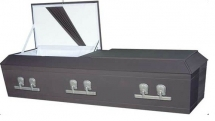 Gun Metal Gray Cloth Cremation
