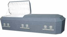 Octagon Blue Cloth Cremation