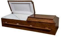 Walnut Cremation Casket