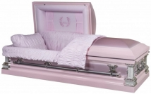 'Mother' Pink Casket